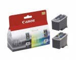 Canon PG-40 / CL-41 12ml 16ml Cyan, Magenta, Pigment black, Yellow ink cartridge