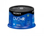 Sony DVD+R 16x, 50 4.7GB DVD+R 50pc(s)