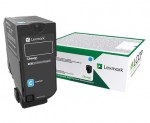 Lexmark 75B20C0 Laser toner 10000pages Cyan toner cartridge