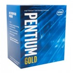 Intel Pentium Gold ® ® Gold G5500 Processor (4M Cache, 3.80 GHz) 3.8GHz 4MB Box processor