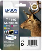 Multipack 3-colours T1306 DURABrite Ultra Ink