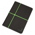"Urban Factory Collins Folio Universal for all 10"" tablets, Dark Grey / Green"
