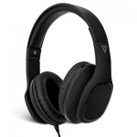 V7 Over-Ear Headphones with Microphone - Black