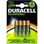 Duracell HR3-B Nickel Metal Hydride 750mAh 1.2V rechargeable battery