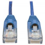 Tripp Lite RJ45-RJ45, m-m, 1.22m 1.22m Cat5e U/UTP (UTP) Blue, Transparent networking cable