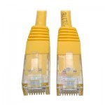 Tripp Lite 2.13 m Cat6 Gigabit Molded Patch Cable RJ45 M/M 550MHz 24 AWG Yellow