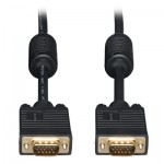 Tripp Lite VGA Coax Monitor Cable, High Resolution Cable with RGB Coax (HD15 M/M), 3.05 m (10-ft.)