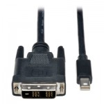 Tripp Lite Mini DisplayPort to DVI Cable Adapter (M/M), 6-ft.