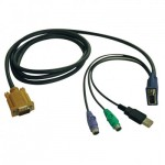 Tripp Lite USB/PS2 Combo Cable for NetDirector KVM Switches B020-U08/U16 and KVM B022-U16, 1.83 m