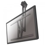 "Newstar TV/Monitor Ceiling Mount for 37""-75\"" Screen, Height Adjustable - Silver"