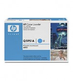 Hewlett Packard Color LaserJet Q5951A Cyan Print Cartridge with ColorS