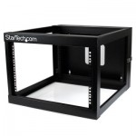 StarTech.com 6U 22in Depth Hinged Open Frame Wall Mount Server Rack