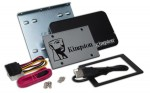 "Kingston Technology UV500 SSD 120GB Desktop/Notebook Upgrade Kit 120GB 2.5"" Serial ATA III"