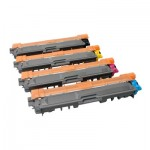 V7 Toner for select Brother printers - Replaces TN241BK/C/M/Y