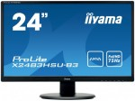 "iiyama ProLite X2483HSU-B3 23.8"" Full HD LED Matt Flat Black computer monitor LED display"